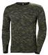 HH Workwear Lifa Merino uld undertrøje med lange ærmer og  75107 camo XL 4371900794