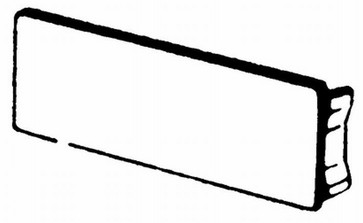 Endestykke BR 70130 M55737030
