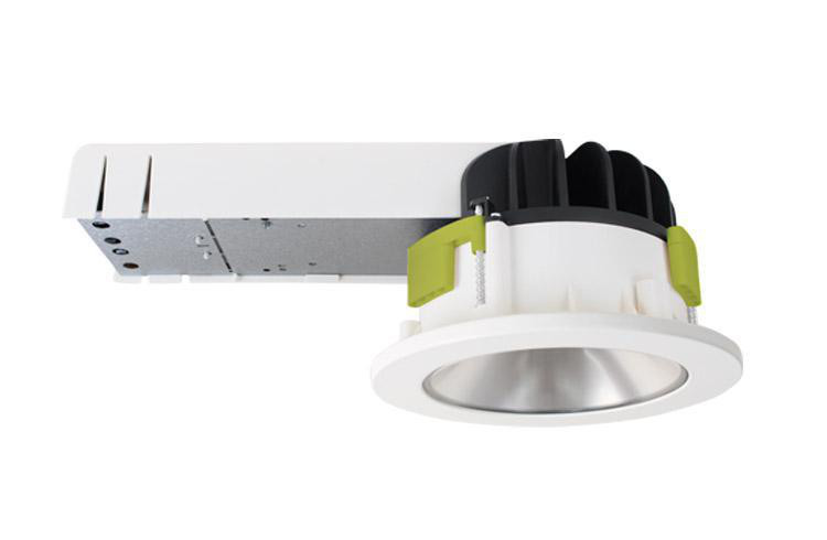 Rax 150 15W LED 4000K-Ra>80 CD R-SM Hvid/9010/25 - Inkl opal top diffuser og Opal deco