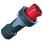 CEE stikprop 4 polet 125A 400V IP67 13219 miniature