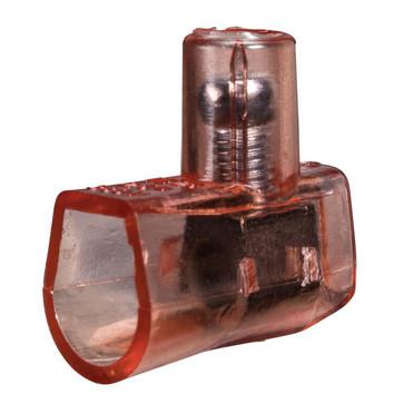 Samlemuffe plast enkelt  2,5 mm² rød, rød 180A200008