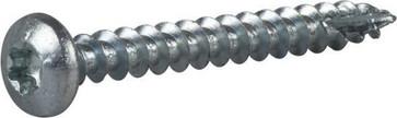 Wood Screw Full Thread Pan Head 127173