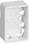LK FUGA Baseline 50 underlag 1½ modul hvid 503D6615 miniature