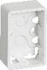 LK FUGA Baseline 50 underlag 1½ modul hvid 1017037764