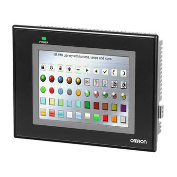 Touch screen HMI, 5,6 tommer QVGA (320x234 pixel), TFT farve, Ethernet + USB Host NB5Q-TW01B 392039