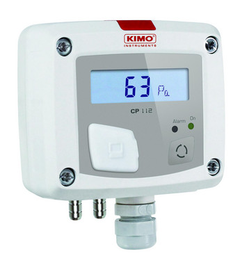 KIMO CP112-AO, Differential pressure transmitter: 0,,±1000Pa 5706445791606