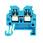 Gennemgangsklemme WDU1,5/R3,5BL 175417 1754170000 miniature