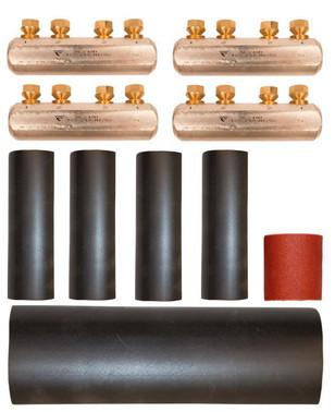 Skruemuffekit, komplet 120-240mm² 7321-007400