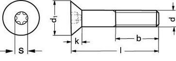 ISO 10642 A2 M 4X16 TX20 106422T4  16
