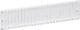 LK dæksel for afblænding for 6 M36 enheder hvid 1016008820