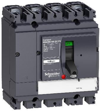 Lastadskiller DC-PV NSX100NA 4 poler 100A LV438100