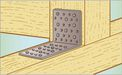 Perforated angleplate