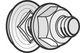 Bolt / møtrik BTRCC 6x12 ZnL (100) 8737522167