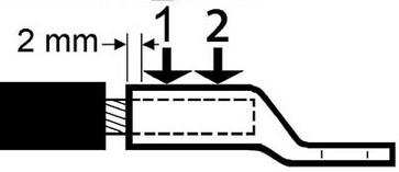 DUAL pressebakker 13DCB30 f/ KRF/KSF 240mm² 5303-102400