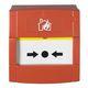 Brandtryk konventionel  med underlag og plastplade 7885650432