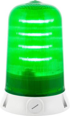 Roterende lampe med LED og multifunktion 24V Grøn 90064