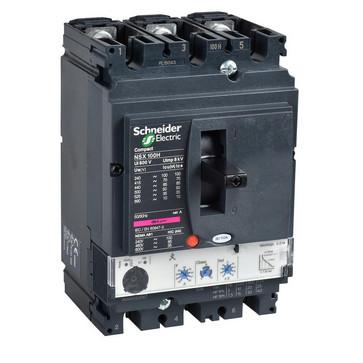 Maksimalafbryder NSX250H+Mic2.2/250A 3P LV431790