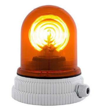 Roterende lampe 24V - Orange, 200R, 24 26362