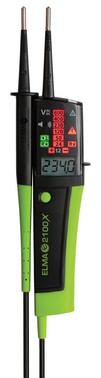 Elma 2100X - Cat IV voltage tester, with digital display 5706445140060