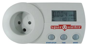 SparOmeter – kWh måler til stikkontakten - DK stik u. jord 5706445140237