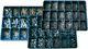 Box med udvendige låseringe DIN 471 + indvendige låseringe DIN 472 ubehandlet 2471000005