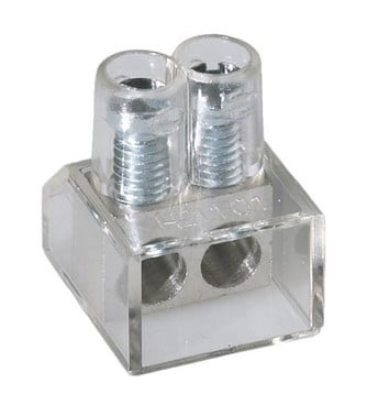Samlemuffe dobbelt 2x10 mm² klar lige kærv 4x200stk FT-SM-DB-2X10MM-KL-4X200STK