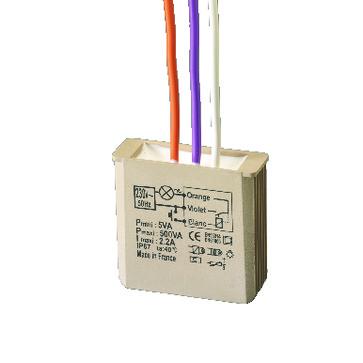 MTV500e Elektronisk lysdæmper/timer med soft start/stop til indbygning. 5454052