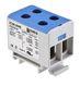 OTL-isoleret universal klemme aluminium/kobber 2*(1,5-50) mm² blå 7821214764