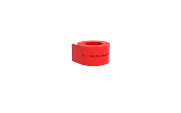 Kabelafdæk rød 100x1,8 mm i rl á 150 mtr - Pas på - herunder el-kabel 11695