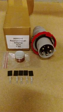 Reparationssæt stikprop 63A FT-36050210