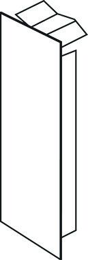 Endestykke LF/LFH 40060/61 PH M5403PH