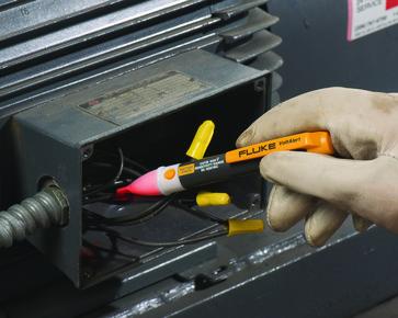 Fluke 2AC spændingsviser voltalert polsøger 3611972