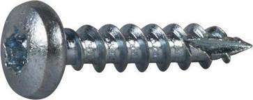 Wood Screw Full Thread Pan Head 127185