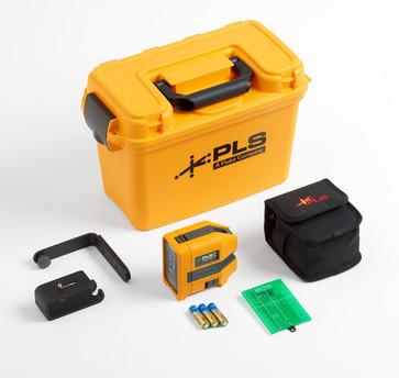 Fluke PLS 3G KIT, 3-punkts grøn lasersæt 5009378