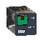 Stikbensrelæ 10A 2C/O 120VAC med testknap RUMC21F7 miniature