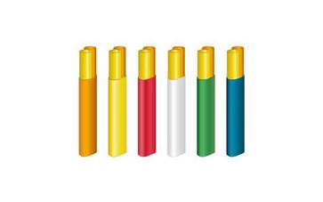 ABF microrør 2x7/3.5 mm S12 orange Tr.1000 MPB30278/2-1