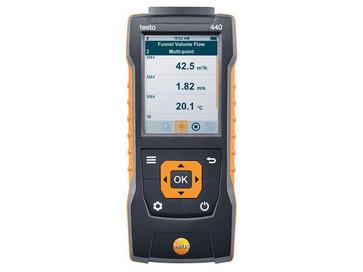 Testo 440 - Air velocity and IAQ measuring instrument 0560 4401