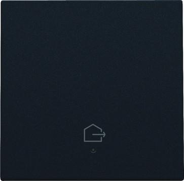 """Tangent med LED, med """"forlad hjem"""" symbol, black coated 161-32902"""