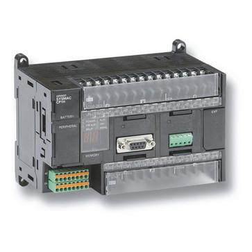 PLC, 24VDC forsyning, 24x24VDC indgange, 16xNPN udgange 0,3A, 1xanalog indgang, 20K trin program + 32K-ord datalager CP1H-X40DT-D 209401