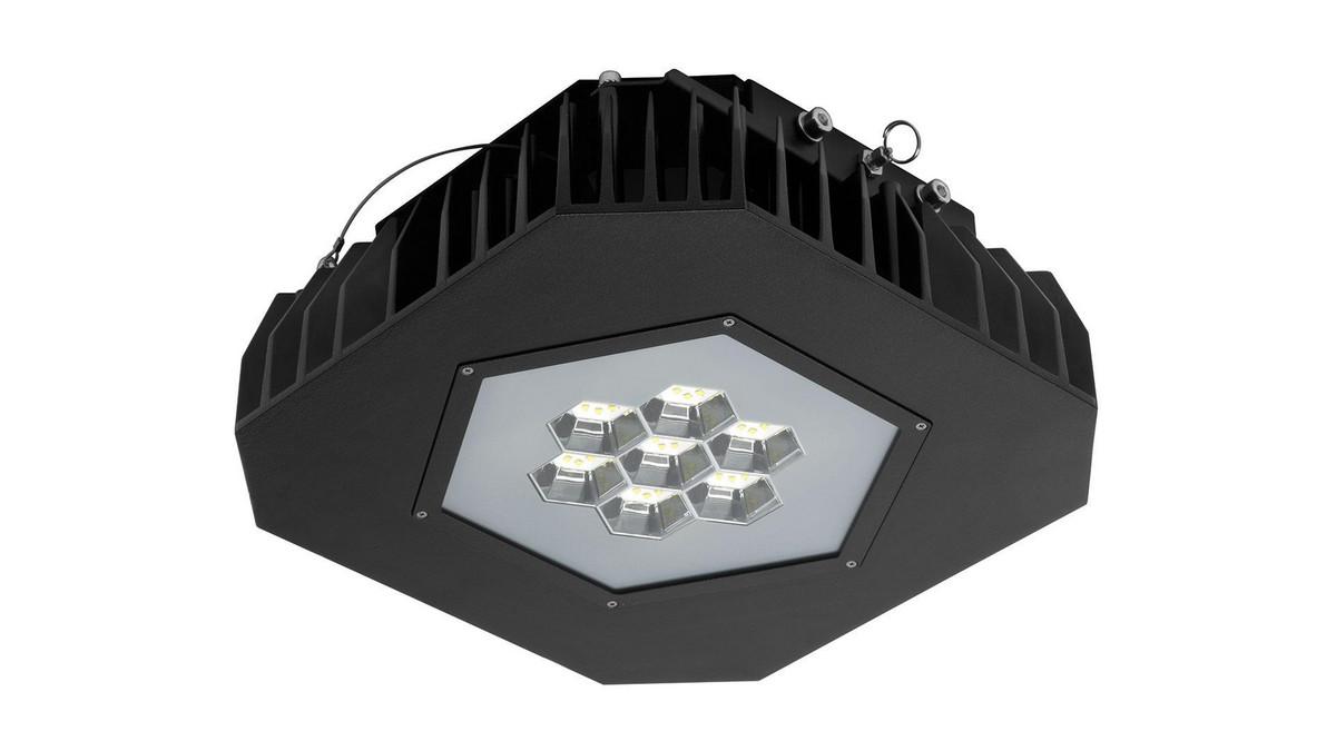 Grafias Sport OMS 10400lm/94W/840 LED Fix IP66 påbyg sort