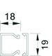 Kabelkanal komplet HF LFH20020 PH 7936013834