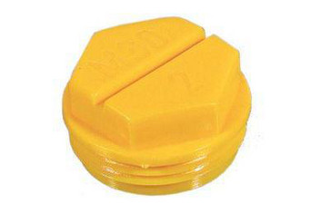 Screw-on protection plug M16x1,5 PEHD yellow 80 11000