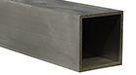 Aluminiumrør, kvadratiske i legering 6060/6063