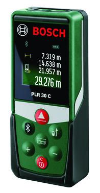 Grøn Bosch Laserafstandsmåler plr 30c 0603672100