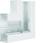 Fladvinkel plast for BR65170 RAL 9016 BR6517059016 miniature
