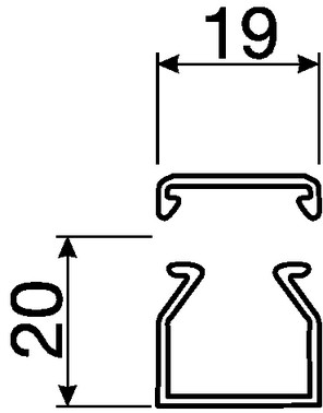 Kabelkanal komplet LF20020 PH LF20020PH