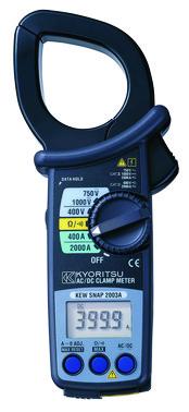 Kyoritsu 2003 tangamperemeter 5706445250554