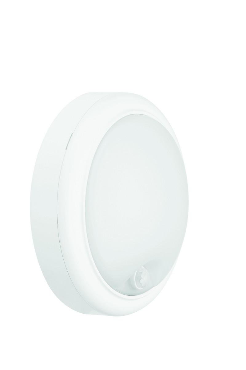 MAZDA Væg- og Loftarmatur LED WL007C 15W 1300lm 4000K Rund Sensor