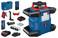 Blå Bosch Rotationslaser GRL 600CHV M/LR 60 M/RB60 0601061F00 miniature