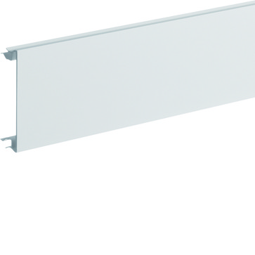 Installationskanallåg BR65 i plast højde=80mm RAL 9016 BR08029016